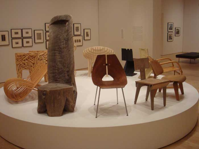 Evolution of Chairs (SFMOMA)